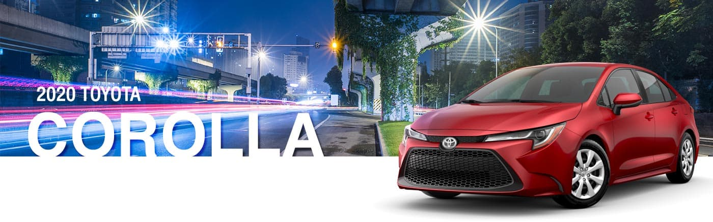 Shop The 2020 Toyota Corolla Sedan Lineup In Kirkland, WA Near Renton