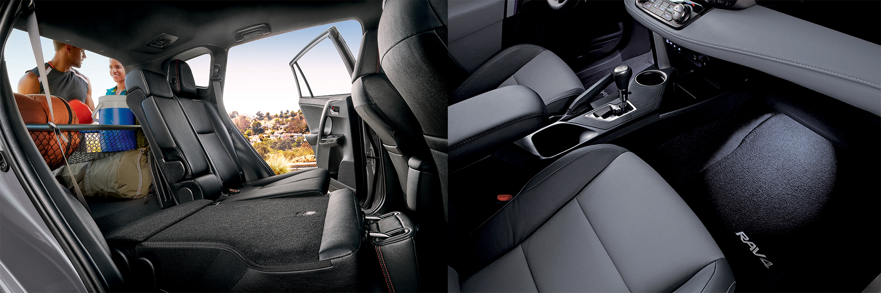 Toyota RAV4 bucket seats at Freedom Toyota of Hamburg, PA
