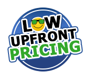 Low Upfront Pricing