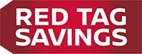 red tag savings