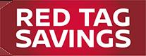 red tag savings