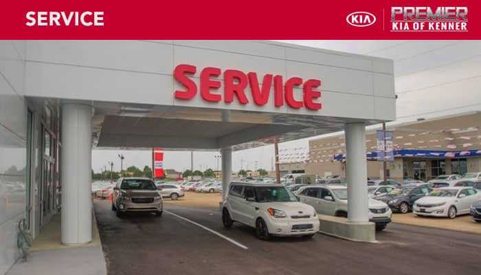 Car Lots In Kenner >> Kia Service Department Near Metairie La Premier Kia Of Kenner
