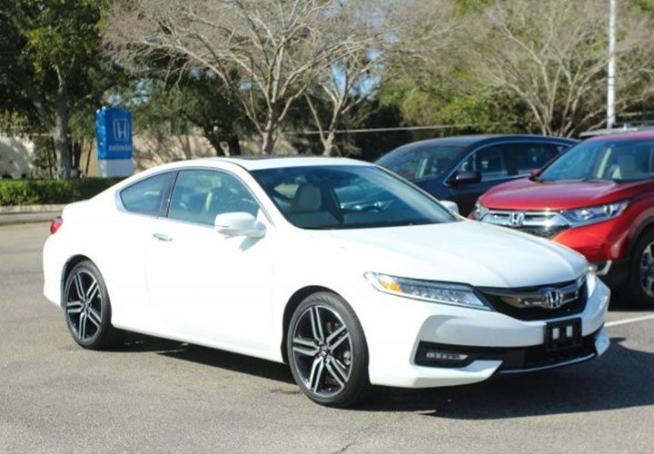 2017 Honda Accord Coupe Touring Auto