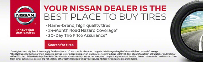 Nissan of Murfreesboro Service Tires