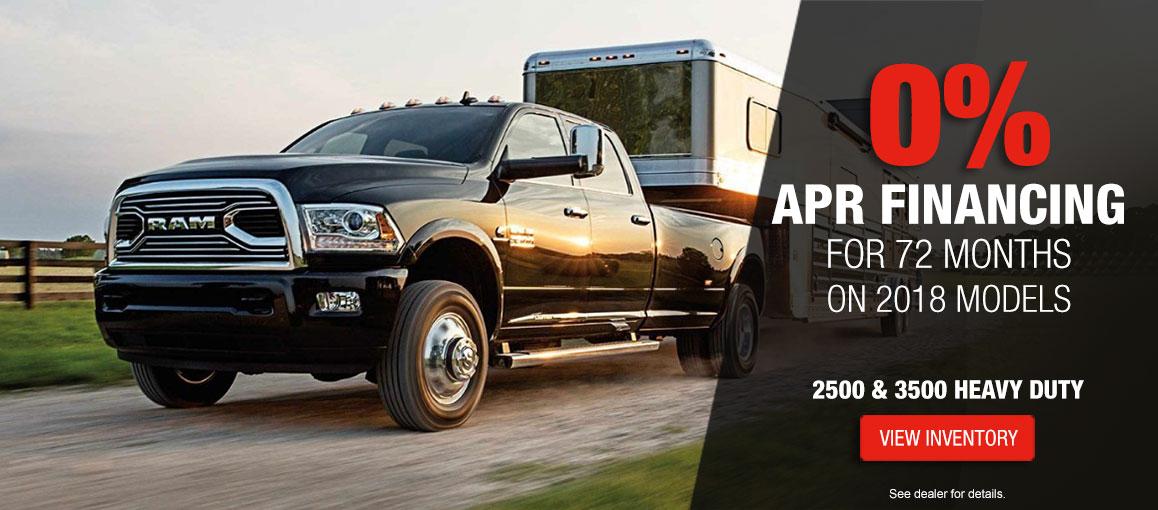 0% APR 2018 Truck Offer