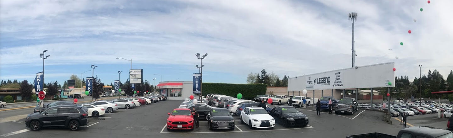 About Our Used Car Dealership in Burien, WA | Legend Auto Sales