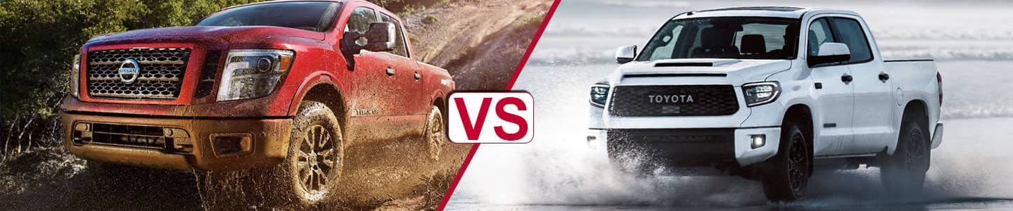 Premier Nissan of Metairie 2019 Titan Vs Tundra
