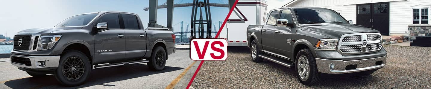 Premier Nissan of Metairie 2019 Titan Vs RAM 1500