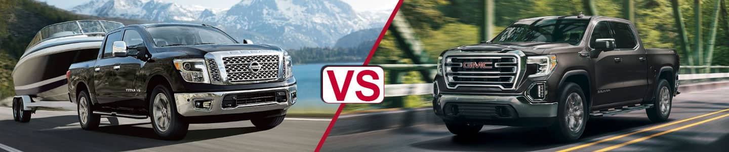 Premier Nissan of Metairie 2019 Titan Vs Sierra