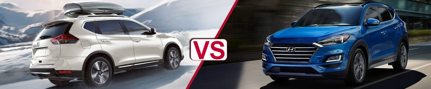 Premier Nissan of Metairie 2019 Nissan Rogue Vs Tucson