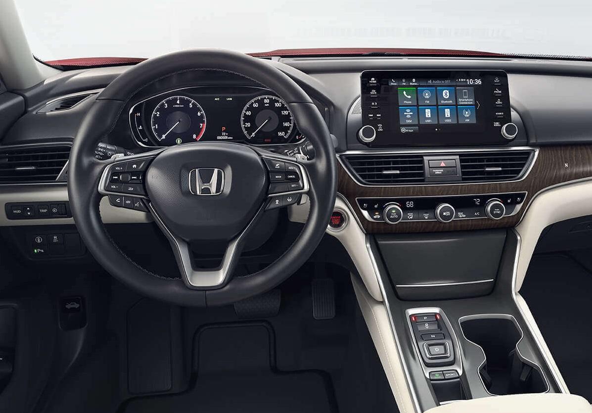 2019 Honda Accord Interior Technology