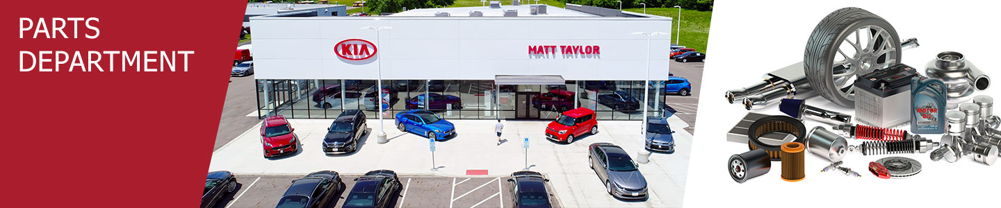 Kia Parts Department Serving Lancaster, OH | Matt Taylor Kia