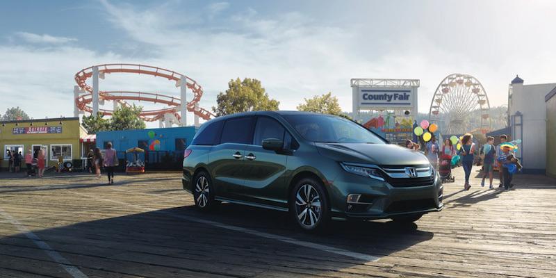 Green 2019 Honda Odyssey