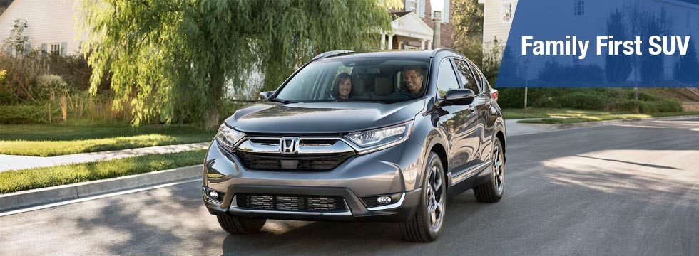 Exterior of the 2019 Honda CR-V at Honda of Fort Myers near Cape Coral FL