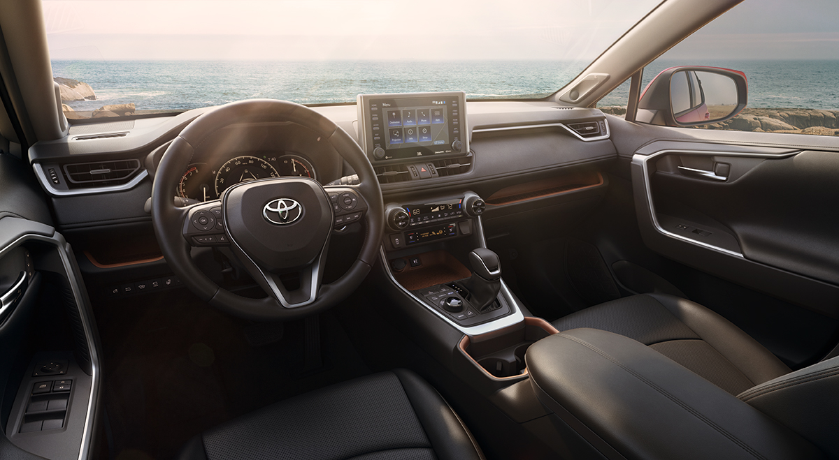 2019 RAV4 equipped with engine immobilizer at Freedom Toyota in Hamburg, PA