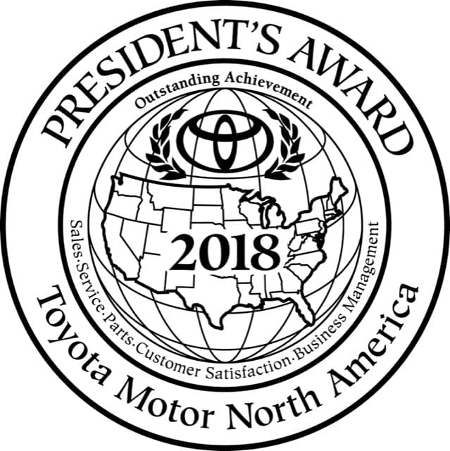 toyota presidents award