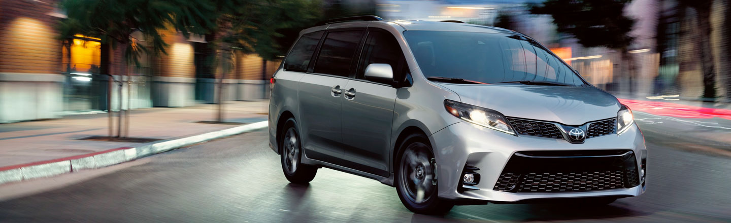 Explore The New 2020 Toyota Sienna Minivan In Westminster, CA