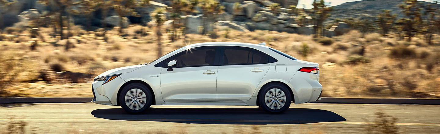 Introducing The New 2020 Toyota Corolla Hybrid In Westminster, CA