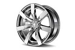 Alloy and Chrome Wheels
