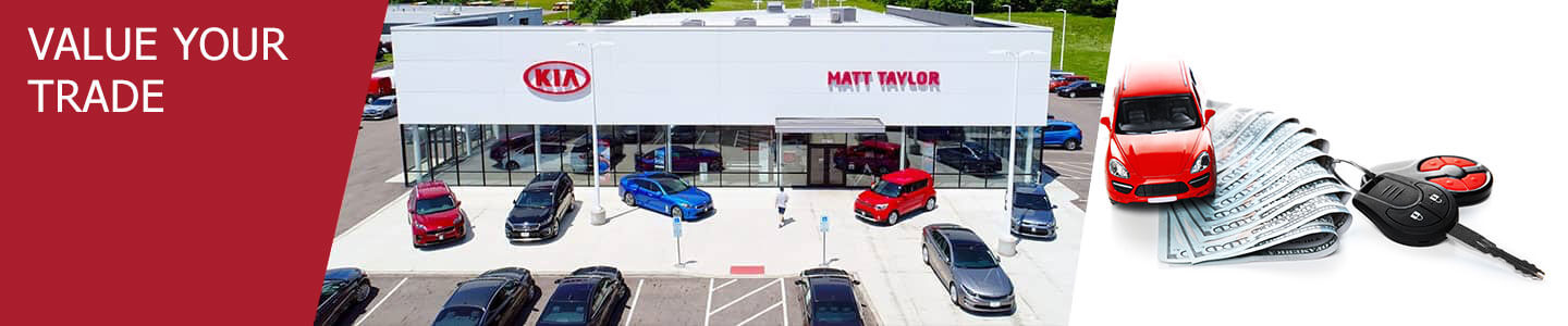 Value Your Trade in Lancaster, OH at Matt Taylor Kia