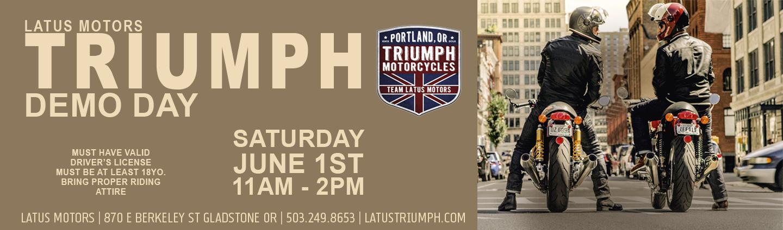Triumph Motorcycle Dealership Near Portland Or Latus Motors