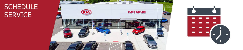Matt Taylor Kia Schedule Service