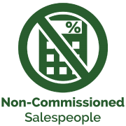 non-commissioned sales people