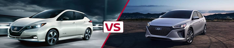 Premier Nissan of Fremont 2019 Nissan Leaf VS Ioniq