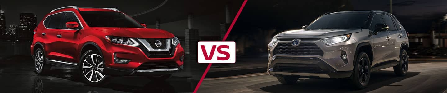 Premier Nissan of Fremont 2019 Nissan Rogue Vs RAV4