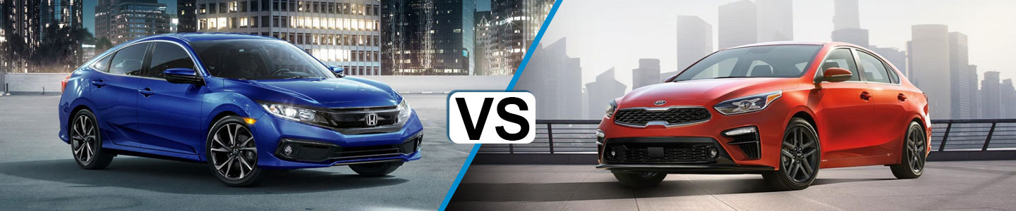 Discover How the 2019 Honda Civic and the 2019 Kia Forte Compare