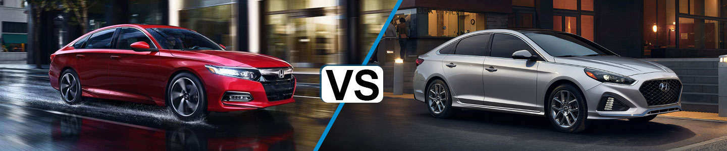 Discover How the 2019 Honda Accord and the 2019 Hyundai Sonata Compare