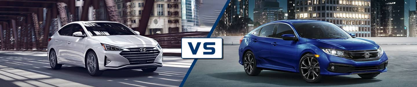 Premier Hyundai of Tracy 2019 Hyundai Elantra Vs Civic
