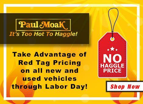 Paul Moak Honda Too Hot To Haggle Summer
