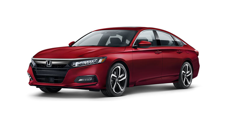 The 2019 Honda Accord EX available at McGrath Honda in Elgin, IL