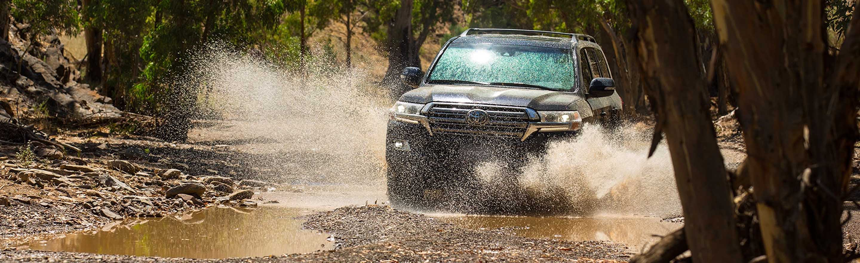 2019 Land Cruiser On Road at Durant Toyota