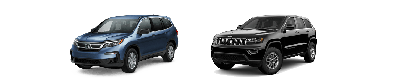 2019 Honda Pilot VS. The Jeep Grand Cherokee In Little Rock