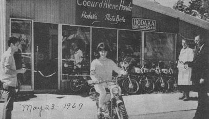 coeur d'alene honda 1969