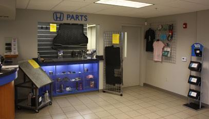 parts showroom