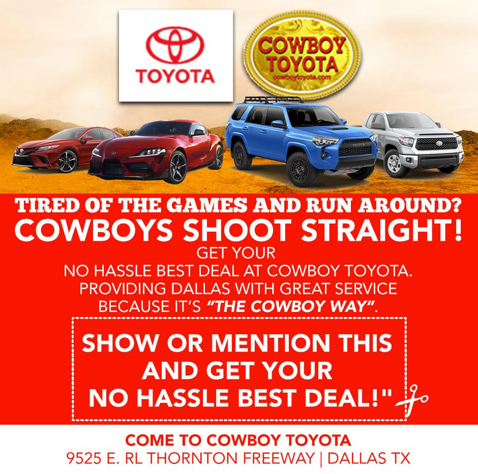 Toyota Dealership & Service Center in Dallas, Texas | Cowboy Toyota