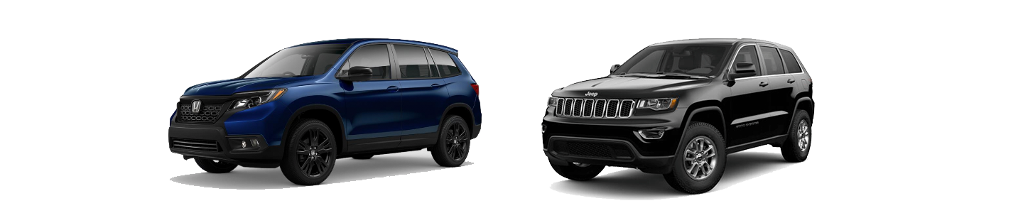 Honda Passport Against The Jeep Grand Cherokee At McLarty Honda