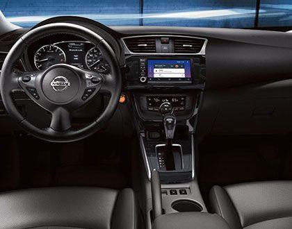 2019 Nissan Sentra, interior