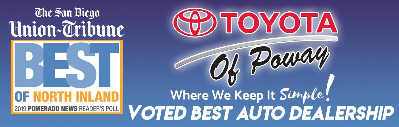 Toyota Of San Diego >> Toyota Of Poway New Used Car Dealer In Poway Near San Diego Ca