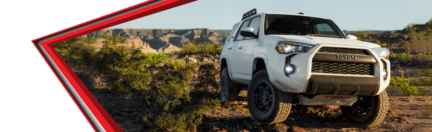 Take the Path Less Traveled in Your New 2019 Toyota 4Runner