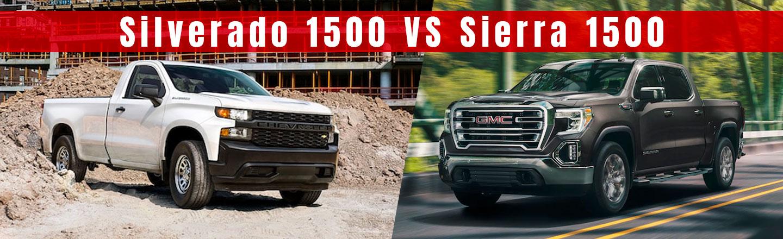 Compare The Sierra 1500 Pickup Truck Against The Silverado 1500