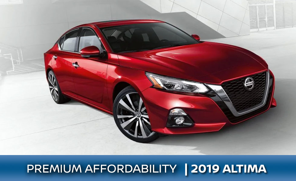 The 2019 Nissan Altima is available at Rountree Moore Nissan in Lake City, FL