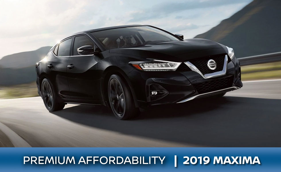 The 2019 Nissan Maxima is available at Rountree Moore Nissan in Lake City, FL