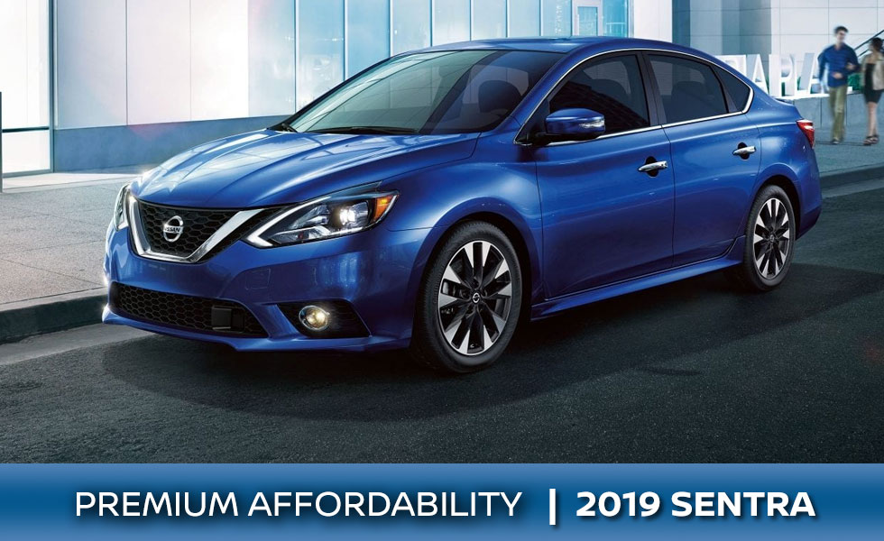 The 2019 Nissan Sentra is available at Rountree Moore Nissan in Lake City, FL