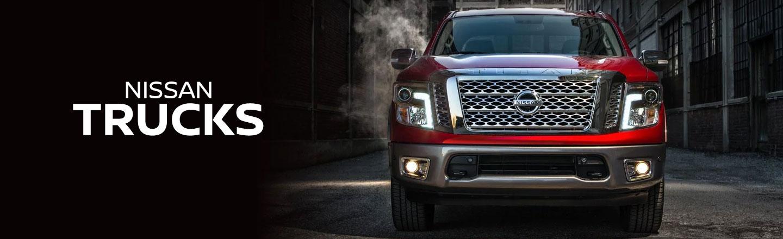 Compare Nissan Trucks in Metairie, LA | TITAN | TITAN XD | Frontier
