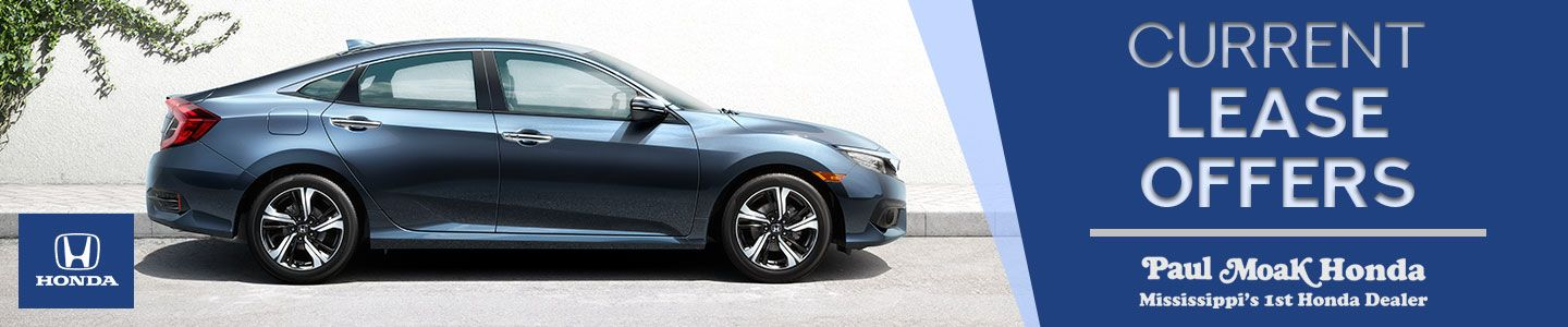 Current Lease Offers and Specials for Paul Moak Honda In Jackson, MS