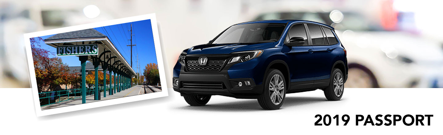 An All-New 2019 Honda Passport Waits For You Here In Fishers, Indiana